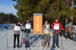Студенты КИИД приняли участие в соревнованиях по лыжным гонкам