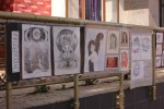 Состоялась уличная выставка «Окно»,  авторский проект студентки КИИД.