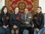 Студенты КИИД поздравили ветеранов с  Днем Победы!