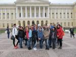 4 мая студенты КИИД благополучно вернулись из экскурсионного тура в культурную столицу России город Санкт-Петербург