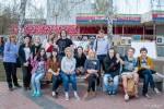 1 и 2 мая состоялся АРТ – проект «Окно» организованный студенткой 1 курса колледжа КИИД Кариевой Анастасией