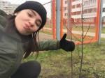 У студентов КИИД в городе появились свои деревья